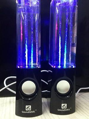 Soundsoul Music Fountain Mini Amplifier Dancing Water Speakers I-station7 Apple Speakers