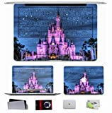 10 PCS Macbook Pro/Air 11 13 15 Inch Skin Decal - City Night Lights Salute Disney Land