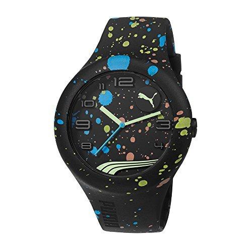 プーマ PUMA Unisex ユニセックス 男女兼用 PU103211021 Form XL Analog Display Quartz Black Watch 時計 腕時計 [並行輸入品]