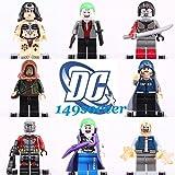 24pcs SET Deadshot Joker harley quinn Custom Lego MiniFigure