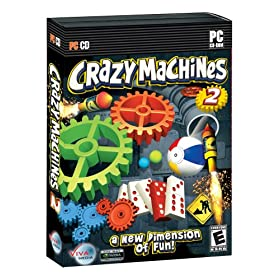 Download Free PC Games Crazy Machines 2 CLONECD Unleashed Free Full Version PC Game