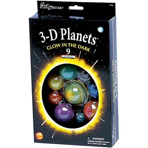 Great Explorations 3-D Planets (Box)