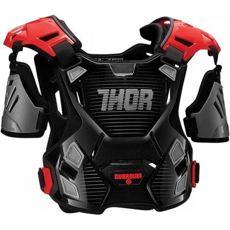 pare-pierre Moto Cross Guardian Protector Thor M/L-Nero Rosso -2701-0791