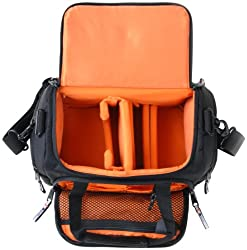 Delsey ODC21 Black - Camera Bag