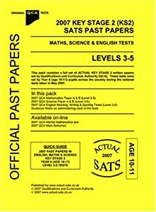 Past science papers ks2