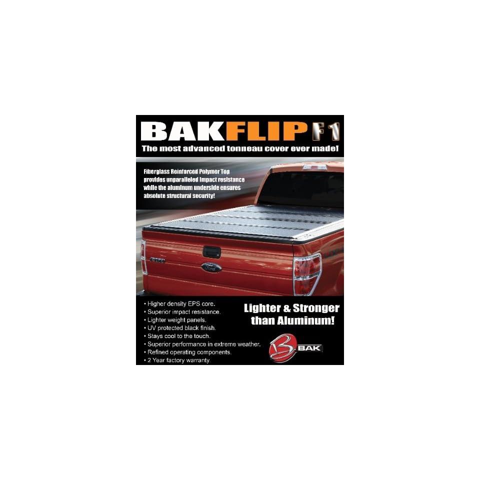 Bak Industries BAKFlip F1 72309F HARD FOLDING TONNEAU COVER For 2010 2011 Ford F150 Raptor Ext Cab/Super Crew Short BED
