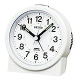 SEIKO CLOCK (セイコークロック) アナログ目覚まし時計 電波時計 KR325W KR325W