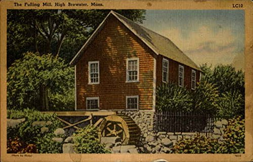 The Fulling Mill High Brewster, Massachusetts Original Vintage Postcard (Fulling compare prices)