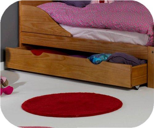 Machambredenfant - Tiroir pour lit enfant évolutif Ivoo coloris blanc 90x140cm