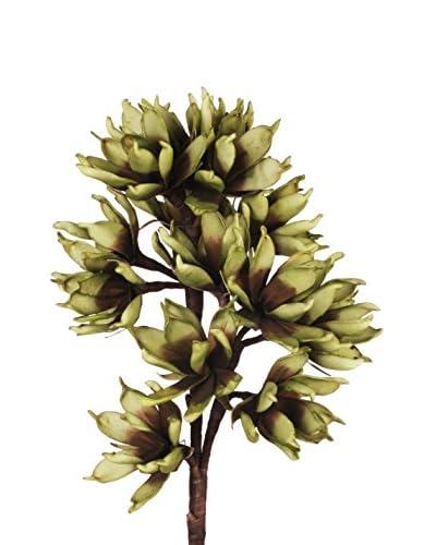 Flor Artificial Verde