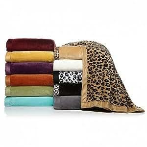 CONCIERGE Soft & Cozy AQUA Microplush KING BED BLANKET