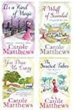 CAROLE MATTHEWS CAROLE MATTHEWS FOUR BOOK SET COLLECTION THE SWEETEST TABOO / YOU DRIVE ME CRAZY / A WHIFF OF SCANDAL / IT'S A KIND OF MAGIC