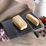 Black Marble Cheese Slicer 74067 by Creative+Home
