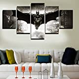 2016 5 Unframed Printed HD Movie Poster Batman Group Painting Children'S Room Decor Print Poster Picture Canvas