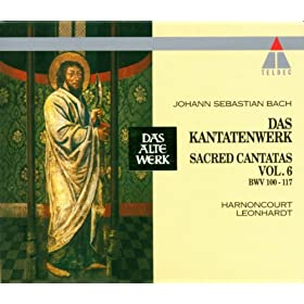 """Cantata No.110 Unser Mund sei voll Lachens BWV110 : V Duet - """"Ehre sei Gott in der H�he"""" [Boy Soprano, Tenor]"""