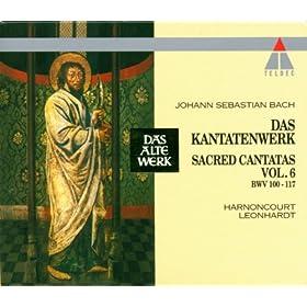 "Cantata No.100 Was Gott tut, das ist wohlgetan BWV100 : II Duet - ""Was Gott tut, das ist wohlgetan"" [Counter-Tenor, Tenor]"