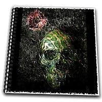 mimulux Dark Art - Fear of the Dark skull gothic gothica dark rock music fear night dark darkness darkart - Drawing Book
