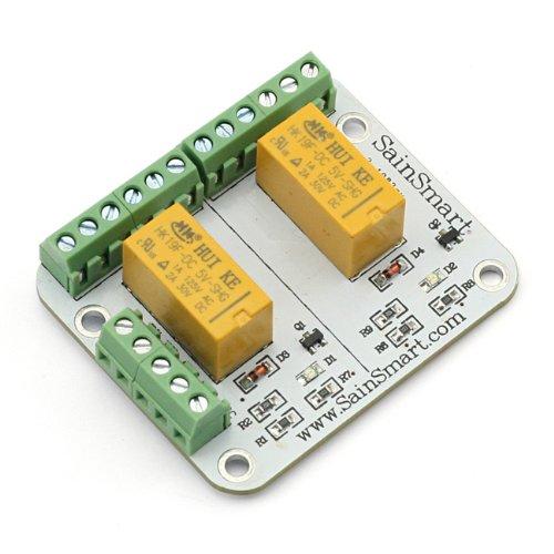 Sainsmart 2 Channel Signal Relay For Arduino Uno R3 Mega2560 Mega1280