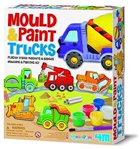 Fridge Magnets & Pins Making Kit-Trucks