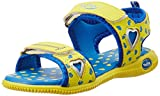 Footfun Unisex Advent06 Yellow Sandals and Floaters - (8.5 kids UK/India (26 EU)