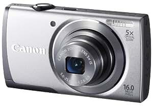 """Canon Powershot A3500 IS Appareil photo numérique 16 Mpix Ecran 7,5"""" USB WiFi Argent"""