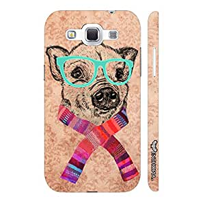 Samsung Galaxy Win I8552 Geeky Dog designer mobile hard shell case by Enthopia