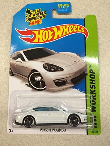 Hot Wheels HW Workshop 2015 - Porsche Panamera - White 186 of 250 - 1