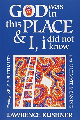 God Was in This Place & I, i Did Not Know: Finding Self, Spirituality and Ultimate Meaning (Kushner), Kushner, Rabbi Lawrence