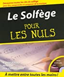 echange, troc Michael Pilhofer, Holly Day - Le solfège pour les nuls (CD Inclus)