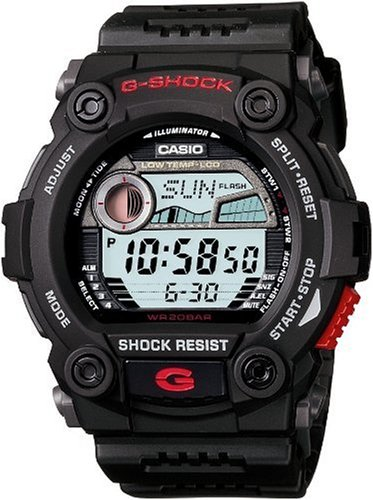 Casio G-7900-1ER G-SHOCK mens digital resin strap watch
