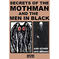 Secrets Of The Mothman and The Men in Black DVD SET