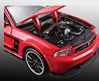 "Tobar 1:24 Scale ""Special Edition Ford Mustang Boss 302"" Model Car Kit"