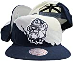 Buy Georgetown Hoyas Snapback Adjustable Plastic Snap Back Hat Cap by Mitchell & Ness