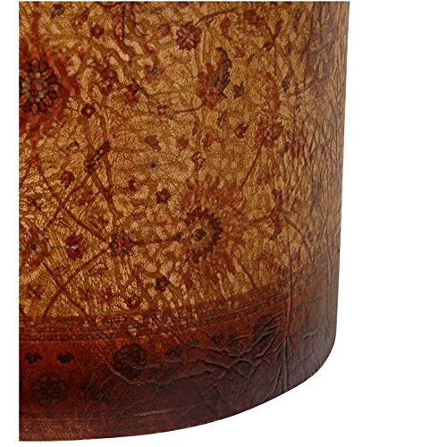 Oriental Furniture Olde-Worlde Baroque Waste Basket 2