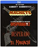 Robert Rodriguez Collection - 4-Disc Box Set ( Machete / Once Upon a Time in Mexico / Desperado / El Mariachi ) ( Machete / Legend of Mexico / Pistolero / El Mariachi ) (Blu-Ray)