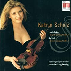 Saint-Sa�ns: Violin Concerto No. 3 / Martinu: Violin Concerto No. 2