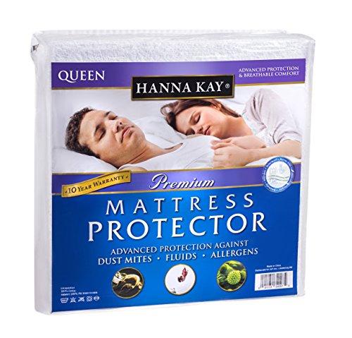 hanna-kay-premium-100-waterproof-mattress-protector-hypoallergenic-10-year-warranty-queens-size