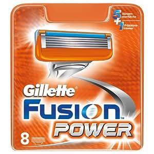 Gillette Fusion Power RasierKlingen, 8 Stück(2014-Edition)