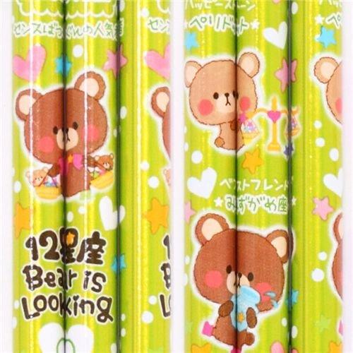 süßer Bären Sternzeichen Bleistift Waage aus Japan