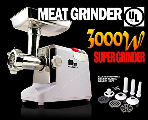New 3000W/ 3.4HP Compact Electric Meat Grinder (Cielo Blue Meat Grinder compare prices)