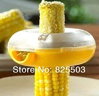 As seen on TV new round corn kernels cutter,devices cut corn, Novelty One-Step Corn Kerneler, 5pcs/lot