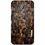 Nokia Lumia 630 Back Cover - Wood Art Designer Cases