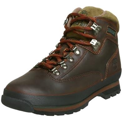 (又降)Timberland Men's Euro Hiker Boot踢不烂男士户外鞋 64.23