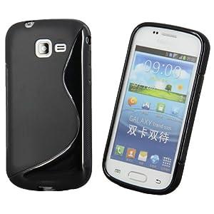 Ownstyle4you custodia in silicone copertina gel case - Samsung galaxy trend lite noir s7390 ...