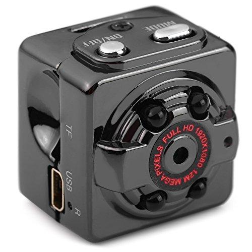 AutoLover Mini Camera SQ8 Mini DV Camera 1080P Full HD Car DVR Recorder Motion Wireless Aluminum Video Camera (Mini Spy Cameras For Cars compare prices)