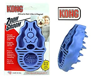 Zoom Groom Multi-Use Dog Brush by Kong