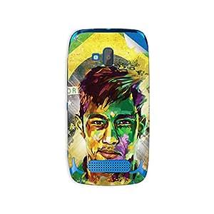 ezyPRNT Nokia Lumia 610 Neymar Football Player mobile skin sticker