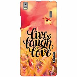 Lenovo K3 Note - PA1F0001IN Back Cover - Silicon Live And Laugh Designer Cases