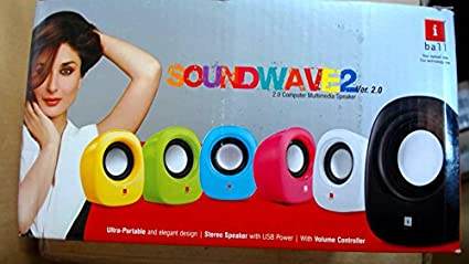 iBall-Wave2-2.0-Channel-Multimedia-Speakers-(Yellow)