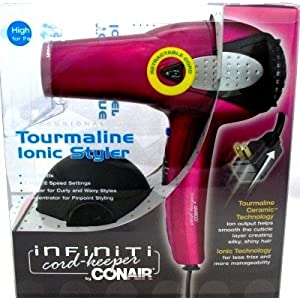 Infiniti by Conair 223F Cord Reel Dryer (Case of 6)